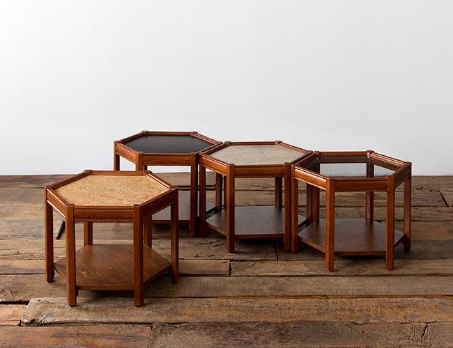 ACME FURNITURE アクメファニチャー BROOKS HEXAGON TABLE linoleum ブルックスヘキサゴンテーブル