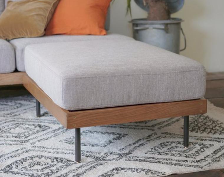 journal standard Furniture ジャーナルスタンダードファニチャー 家具 LILLE OTTOMAN/リルオットマン 7月入荷予約