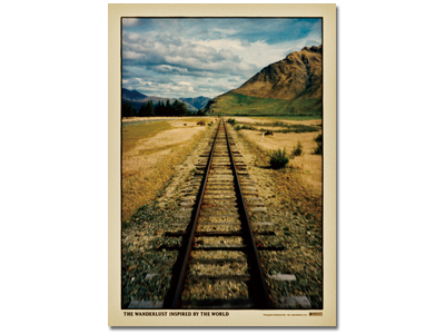 『The Railway Track』フレーム付き