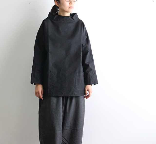ohh!nisica スモッグシャツ モールスキン ONI-102