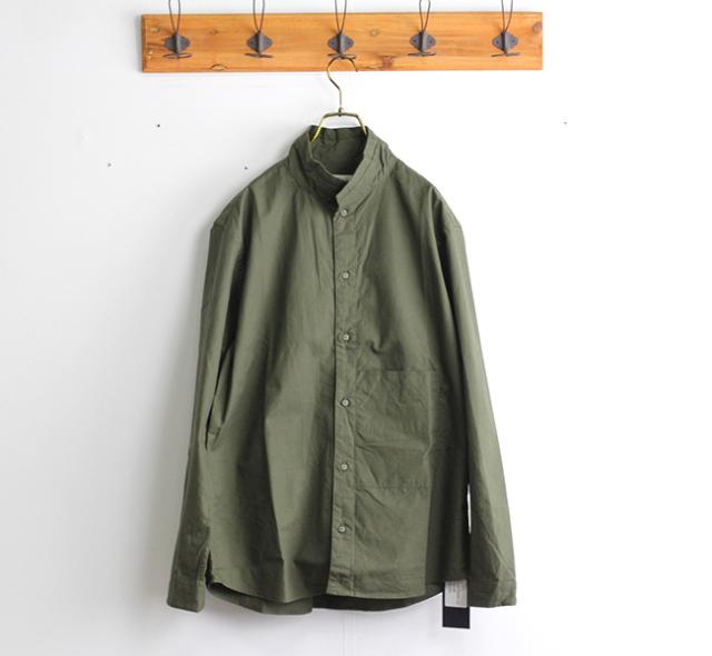 nisica ニシカ  スタンドカラーシャツ リップストップ NIS-842