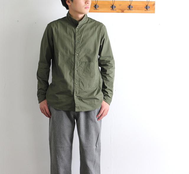 SALE30%OFF nisica ニシカ  スタンドカラーシャツ リップストップ NIS-842