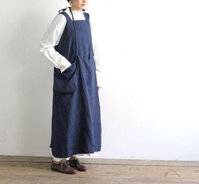SALE30%OFF Vlas Blomme ヴラスブラム Herdmans Linen 40 ジャンパースカート 13541191