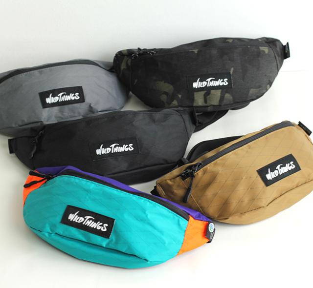 WILD THINGS ワイルド シングス  X-PACK BODY BAG WT-380-0075 ボディーバッグ