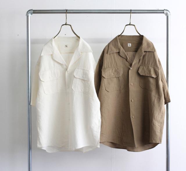 キャプテンサンシャイン KAPTAIN SUNSHINE Open Collar SS Shirt オープンカラーシャツ  KS21SSH09