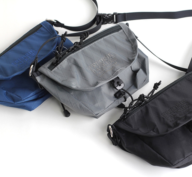 FREDRIK PACKERS フレドリックパッカーズ VX21 X-PAC HUT SHOULDER BAG