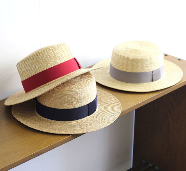 SALE40%OFF  NAPRON ナプロン カンカン帽 麦わら帽子 STRAW BRAID KANKAN  NP-HT01
