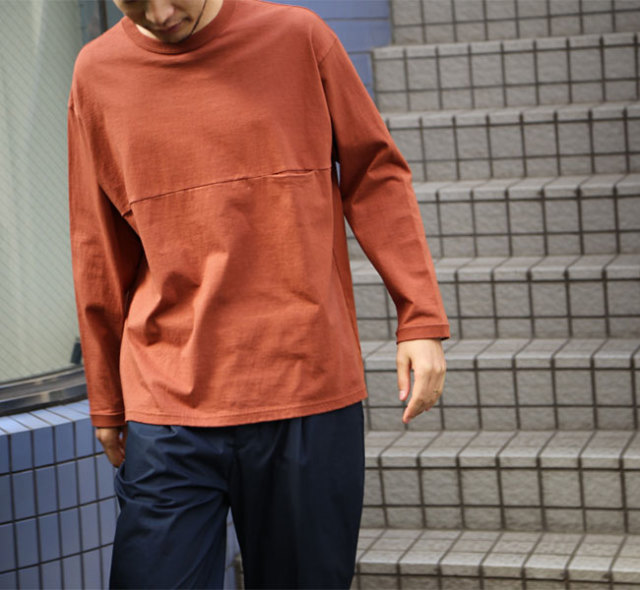 EEL Products イール プロダクツ ユルリTee L/S ロングスリーブ