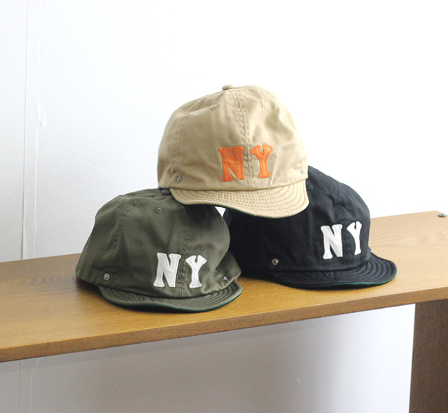 DECHO × EBETTS FIELD DEEF-03 NEGRO BALL CAP -NY- ニグロ ボールキャップ