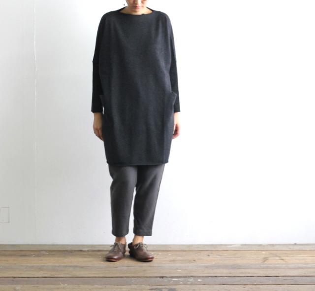 evam eva  エヴァムエヴァ wool tunic E183K125