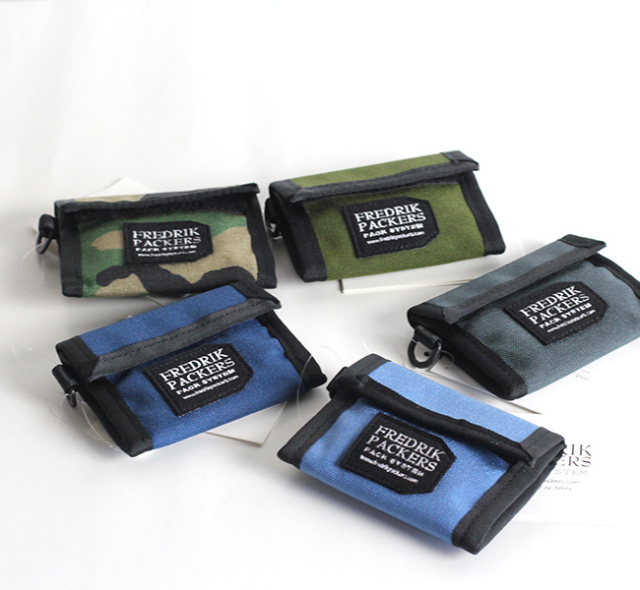 FREDRIK PACKERS  フレドリックパッカーズ 1000D COIN WALLET コインウォレット 再入荷