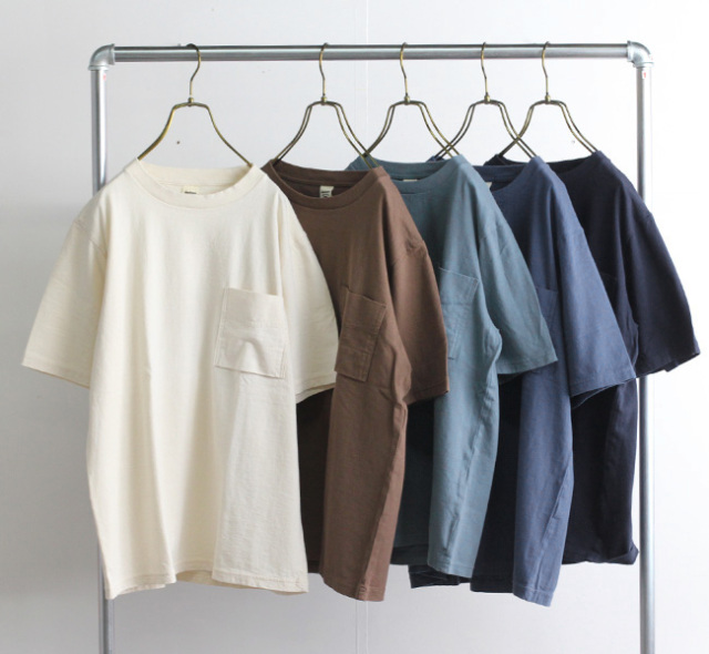 Jackman ジャックマン JM5009 Pocket T-Shirt ポケットTシャツ