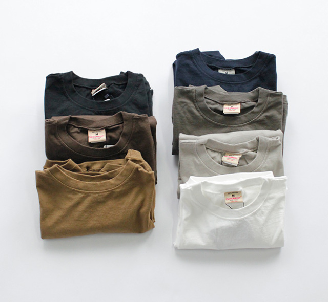 GOODWEAR 長袖Tシャツ NGW9951 CREW NECK L/SL WITH CUFF & HEM RIB   by NARUMI