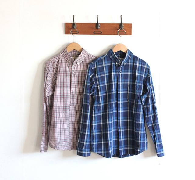 SALE20%OFF nisica ニシカ  ボタンダウンシャツ チェック NIS-773