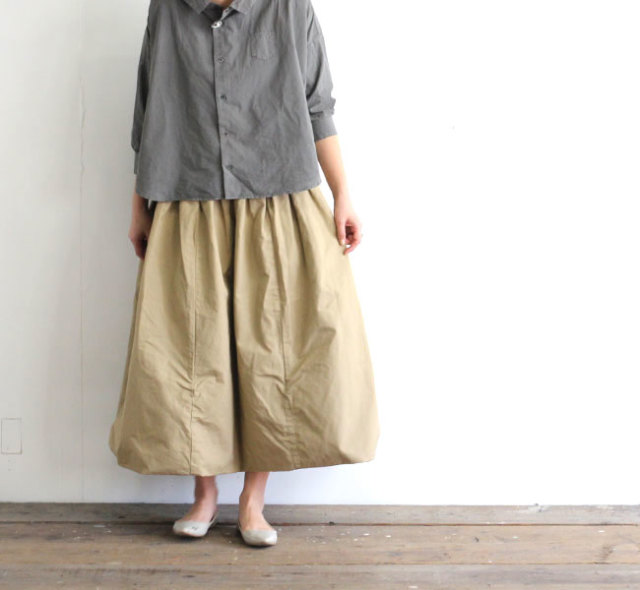ordinary fits オーディナリーフィッツ レディース ボールスカート BALL SKIRT OF-K012