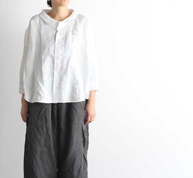 SALE20%OFF ordinary fits オーディナリーフィッツ レディース BARBER SHIRT バーバーシャツ リネン OL-S074
