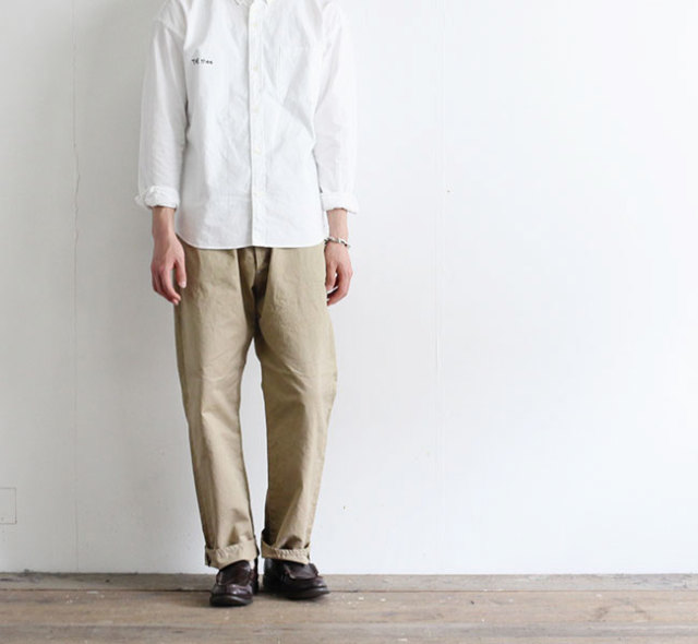 ordinary fits オーディナリーフィッツ ニューファーマーズ チノ NEW FARMERS 5P CHINO OF-P064
