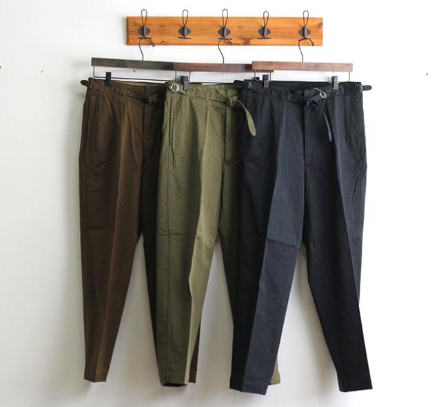キャプテンサンシャイン KAPTAIN SUNSHINE グルカトラウザーズ Gurkha Trousers  KS20FPT10