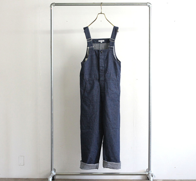 ordinary fits オーディナリーフィッツ デュークオーバーオル DUKE OVERALL used wash OF-O024