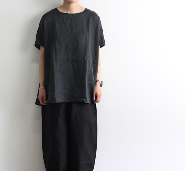 ordinary fits オーディナリーフィッツ リネンラウンドシャツ LINEN ROUND SHIRT OF-S058