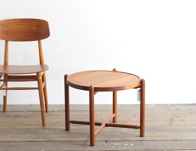 デンマークヴィンテージ サイドテーブル 127 北欧家具 中古家具