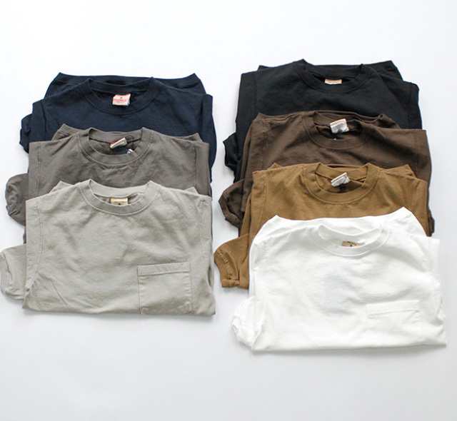 GOODWEAR 長袖ポケTシャツ NGW9951P CREW NECK L/SL WITH CUFF & HEM RIB   by NARUMI