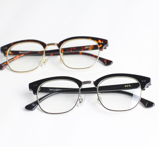 NEW. ニュー    WALDRON ウォルドロン  (旧 NEWMAN ニューマン ) 眼鏡