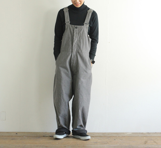 ordinary fits オーディナリーフィッツ レディース デュークオーバーオール DUKE OVERALL OF-O022
