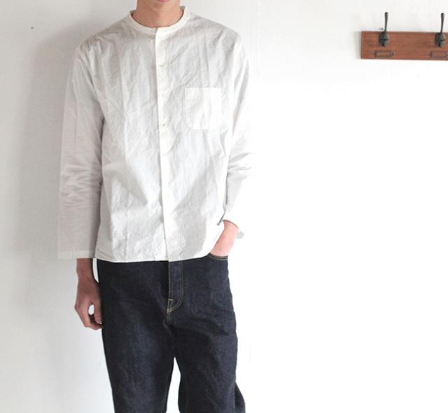Veritecoeur ヴェリテクール et ses COPAINS コパン:  CO-019 Crew neck rib shirt