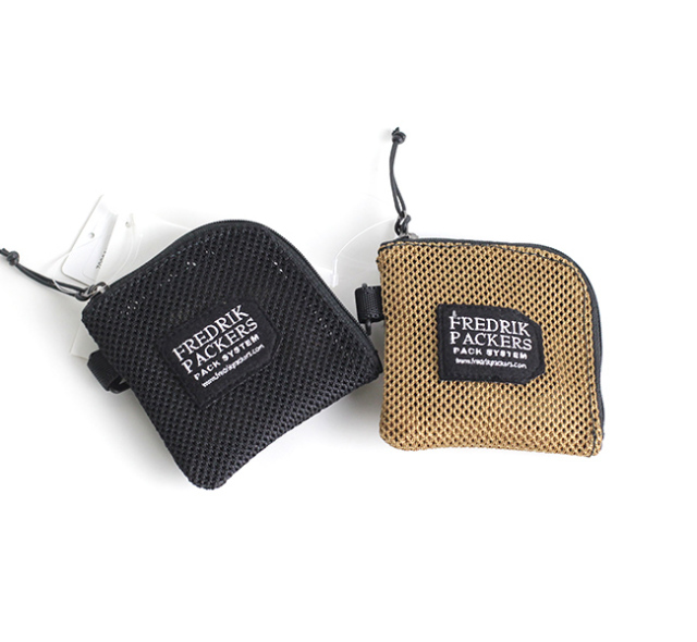 FREDRIK PACKERS フレドリックパッカーズ HEAVY MESH COIN CASE メッシュコインケース