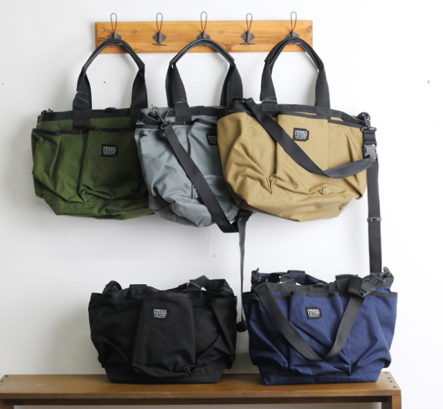 FREDRIK PACKERS フレドリックパッカーズ 2WAY UTILITY TOTE トート 再入荷