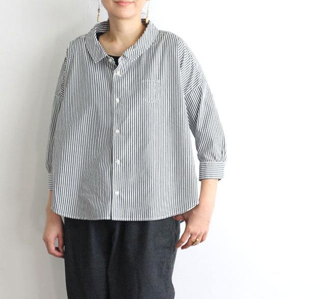 ordinary fits オーディナリーフィッツ レディース BARBER SHIRT バーバーシャツ ストライプ OF-S028