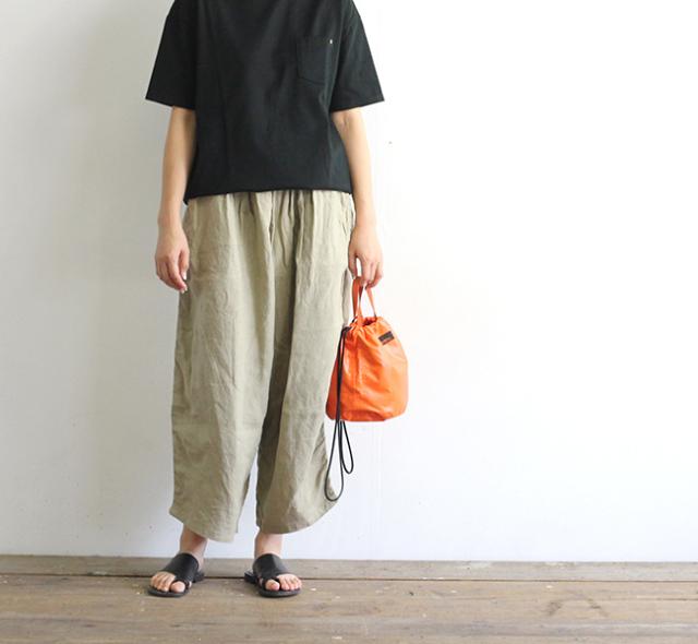 SALE20%OFF ordinary fits オーディナリーフィッツ レディース BALL PANTS linen ボールパンツ リネン OF-P025