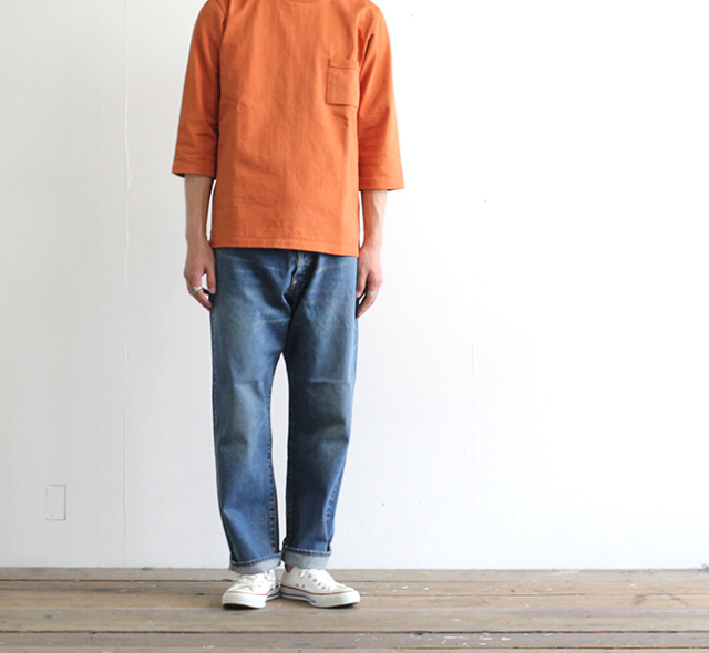 ordinary fits オーディナリーフィッツ ニューファーマーズデニム ユーズド NEW FARMERS 5P DENIM USED OF-P033