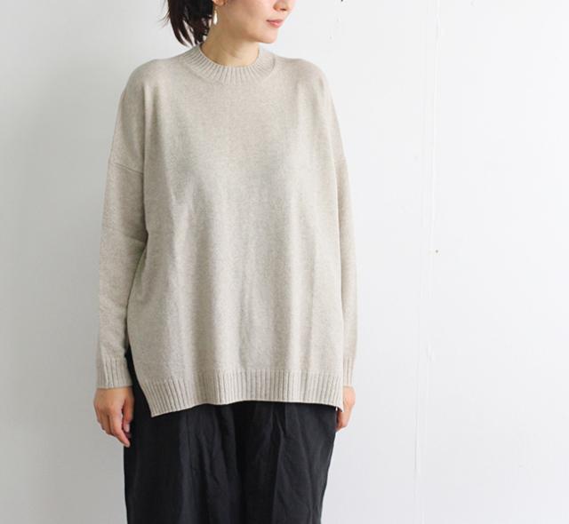 evam eva  エヴァムエヴァ ウールプルオーバー wool pullover E203K036