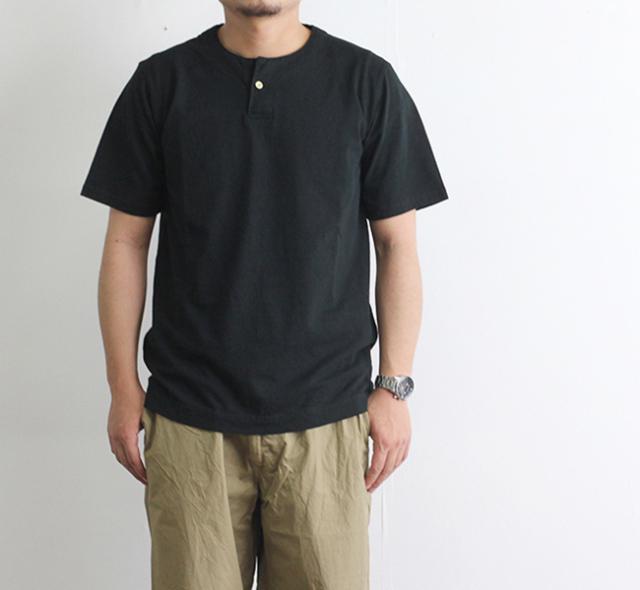 Jackman ジャックマン  JM5713 Henry neck T-Shirt ヘンリーネックTシャツ