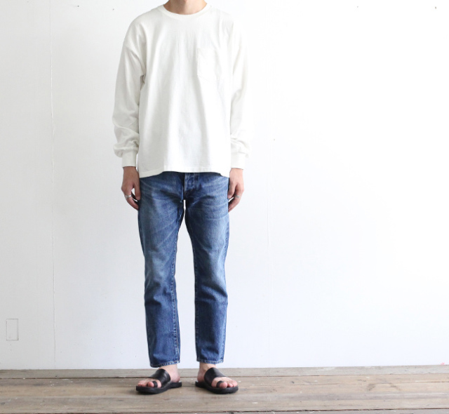 ordinary fits オーディナリーフィッツ アンクルデニム ユーズド 3YEAR 5P ANKLE DENIM NEW 3year USED OM-P020