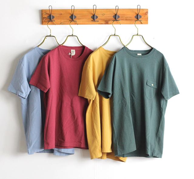 Jackman ジャックマン  JM5550 US Cotton Pocket T-Shirt ポケットTシャツ 13色