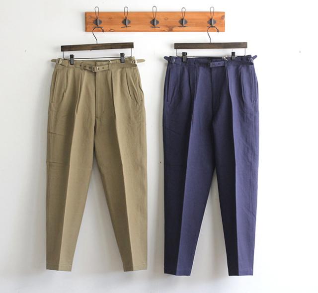 キャプテンサンシャイン KAPTAIN SUNSHINE Gurkha Trousers グルカトラウザーズ KS21SPT13