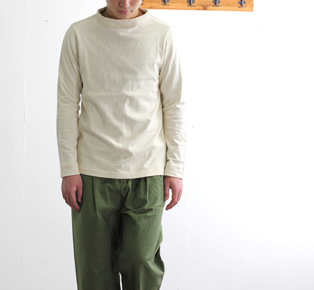 SALE20%OFF nisica ニシカ  ガンジーネックカットソー