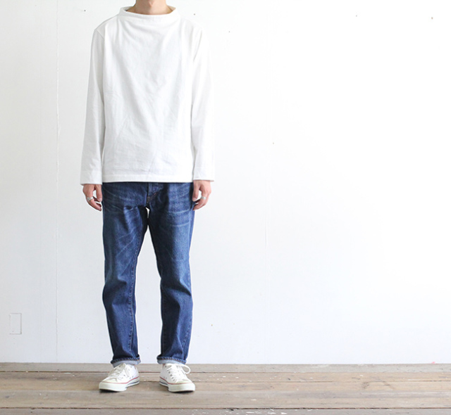 ordinary fits オーディナリーフィッツ アンクルデニム ユーズド 1YEAR 5P ANKLE DENIM NEW 1year OM-P020