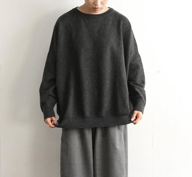 ordinary fits オーディナリーフィッツ レディース バーバーニット BARBER KNIT garment wash OF-N018