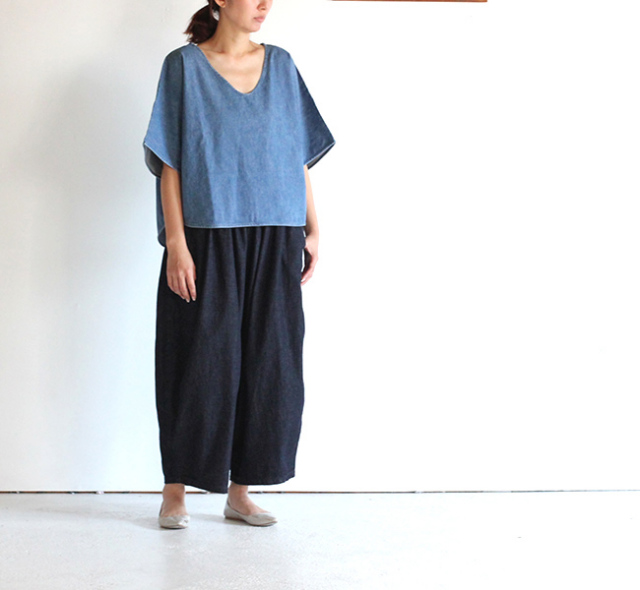 ordinary fits/オーディナリーフィッツ レディース DELI SHIRT DENIM デリシャツ デニム