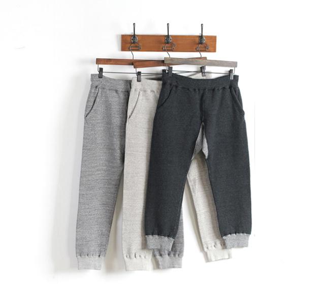 Kepani  ケパニ KP1503MS  Long Beach  Cropped Pants スウェットリブパンツ