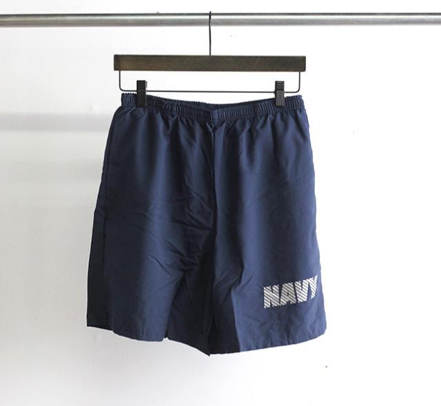 US NAVY PHYSICAL TRAINING SHORTS  NEW BALANCEデッドストック 海軍トレーニングショーツ