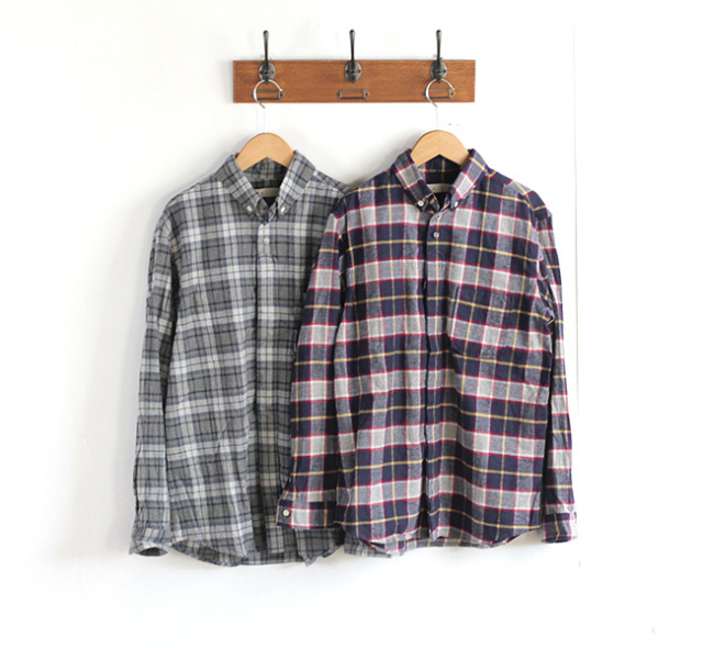 SALE40%OFF nisica ニシカ  ボタンダウンシャツ チェック NIS-794