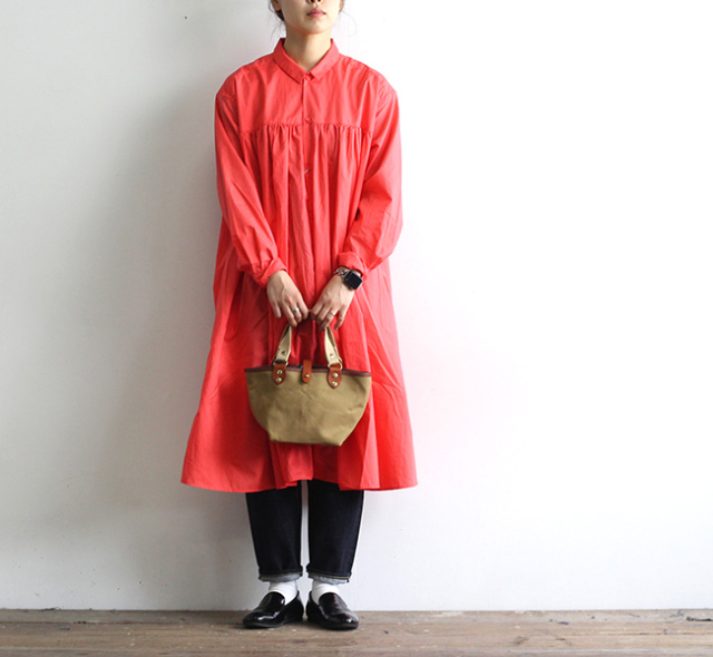ordinary fits オーディナリーフィッツ レディース フラワーワンピース FLOWER ONEPIECE OF-O027
