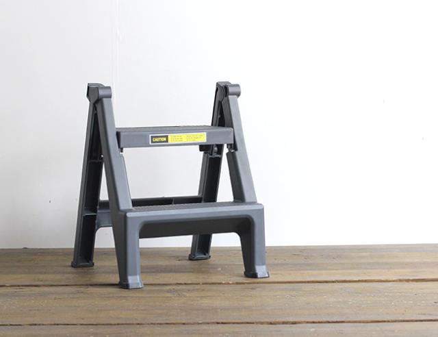 Trust  Folding Stepstools Gray  フォールディング ステップスツール グレー
