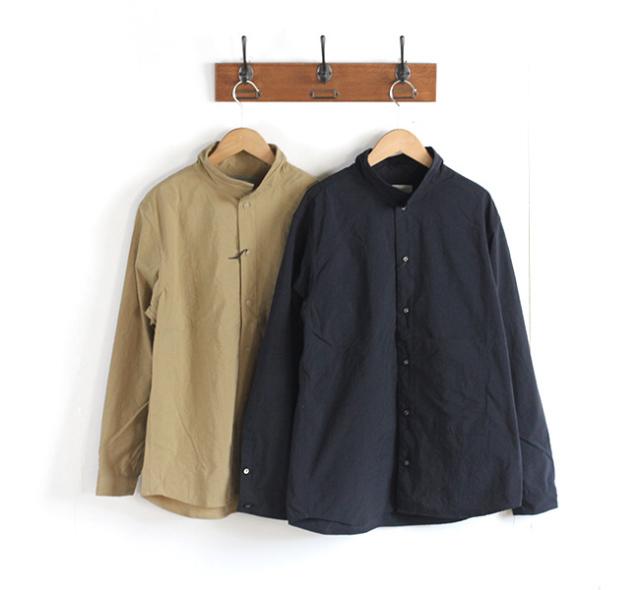 SALE30%OFF nisica ニシカ  スタンドカラーシャツ ナイロン NIS-799