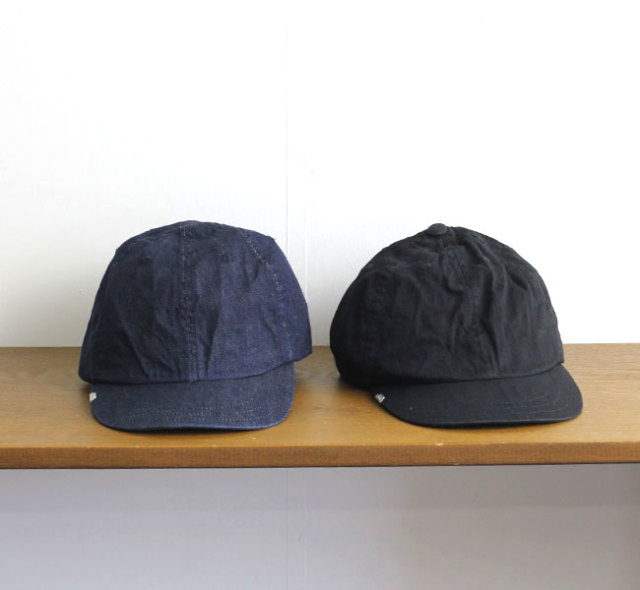 DECHO × ANACHRONORM  レザーバックルキャップ LEATHER BACKLE CAP ANDC-058